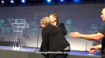 Stomach pain miracle healing - John Mellor Australian Healing Ministry