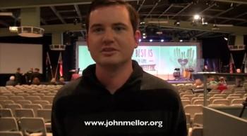 Painful ulcer and bowel miracle healing - John Mellor Australian Healing Evangelist