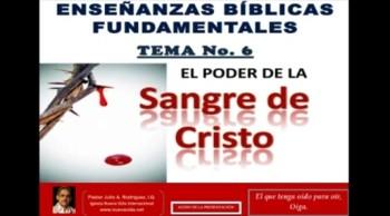 EBF-6. El poder de la Sangre de Cristo. Pastor Julio Rodriguez, INV-NY