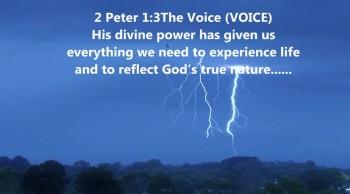 Jesus's divine power