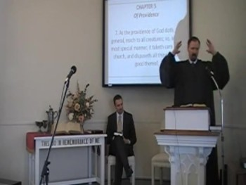 """""""Providence and the Church,"""" WCF 5:7, Rev. R. Scott MacLaren First OPC Perkasie PA"""