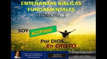 EBF-7. Soy Aceptado por Dios en Cristo