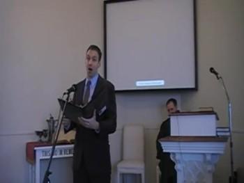 """O Come, O Come, Emmanuel,"" Joseph Waggoner, First OPC Perkasie, PA 12/07/2014"
