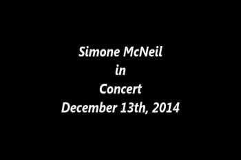 Simone In Concert