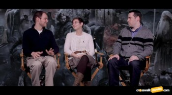 "CrosswalkMovies.com: ""The Hobbit: The Battle of the Five Armies"" Video Movie Review"