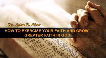 How to Exercise Your Faith and Grow Greater Faith in God, Part 16 (TPMD Bus 1 – #157)