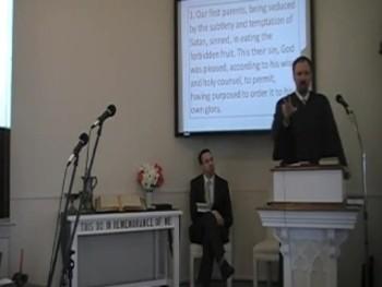 """The Personal, Subtle Satan,"" WCF 6:1; Rev. R. Scott MacLaren 12/28/2014"