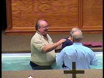 Slim Kazee Baptism