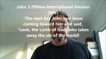 John saw Jesus