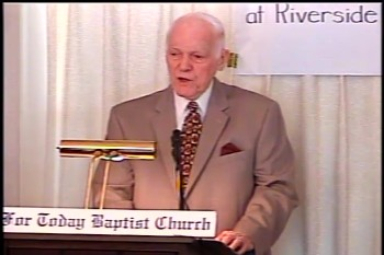 "Part 1 -- ""The Sin of Homosexuality"" – Pastor D. A. Waite – BFTBC"