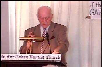 """Part 1 -- """"Christ–The Judge Of All"""" – Pastor D. A. Waite – BFTBC"""