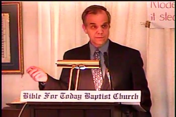 Part 2 -- The Fundamental Baptist Fellowship & Background of Methodism    – History of Fundamentalism Class #22 – BFTBC