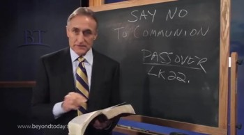 """BT Daily -- Say """"No"""" to Communion"""