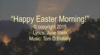 Happy Easter Morning!