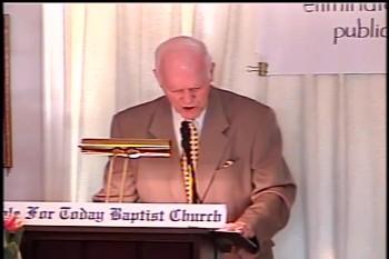 """Part 2 -- """"God Keeps His Promises"""" – Pastor D. A. Waite – BFTBC"""
