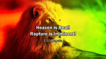 Heaven is Real! Rapture is Imminent! - Elvi Zapata (Heaven Testimony)