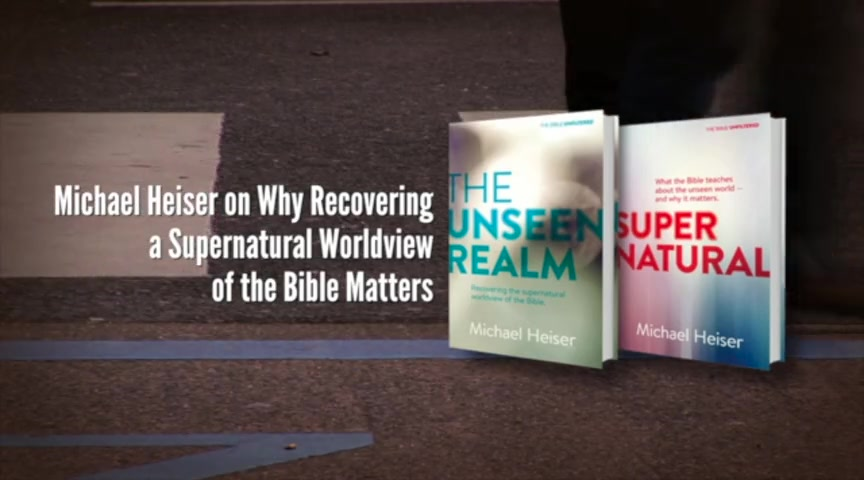 Crosswalk com: Why is it Important to Recover a Supernatural Worldview of  the Bible? - Michael Heiser - Book Trailers