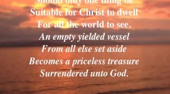An Empty Yielded Vessel