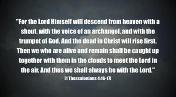 Return Of Christ!