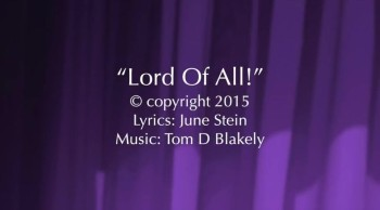Lord Of All!