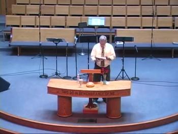 """Sermon-only April 26, 2015 """"A Fresh Start"""" (Isa 43:15-19 & Luke 24:13-35)"""