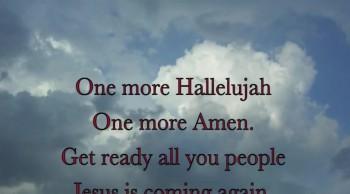 One More Hallelujah