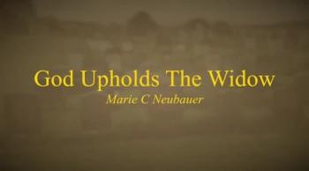 God Upholds The Widow