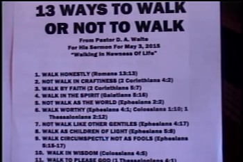 Walking In The New Life – Pastor D. A. Waite – Romans 6:1-11 – BFTBC
