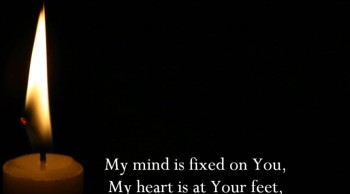 My Mind Is Fixed On You