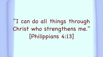 I Can Do All Things..