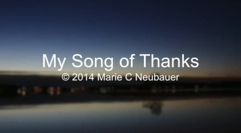 My Song Of Thanks