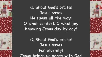 Shout God's Praise!