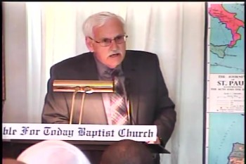 Part 2 -- The Making of A Missionary – Pastor D. A. Waite – BFTBC
