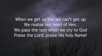 Sing Praise In Trials