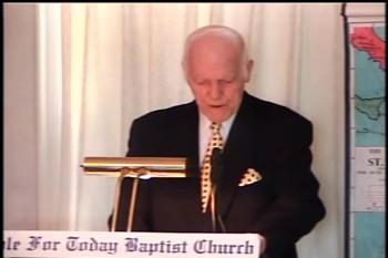 """Part 2 -- """"Suffering First, Then Glory"""" – Pastor D. A. Waite – Romans 8-1-19 –  BFTBC"""