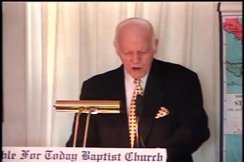 """Part 1 -- """"Suffering First, Then Glory"""" – Pastor D. A. Waite – Romans 8-1-19 –  BFTBC"""