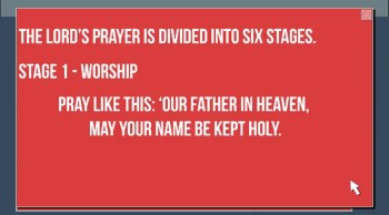 How to Pray (The Lord's Prayer)