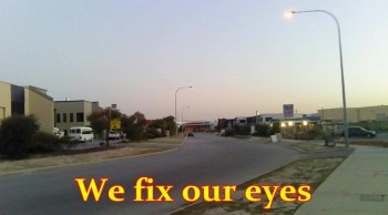 We Fix Our Eyes