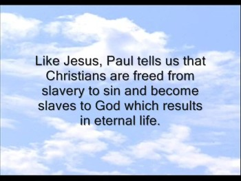 Freedom From Sin Part 1