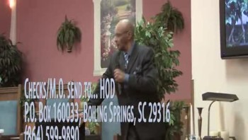 Dr. Larry Manley/Senior Pastor@House of Destiny Int. Ministries... Courage to Obtain the Promise