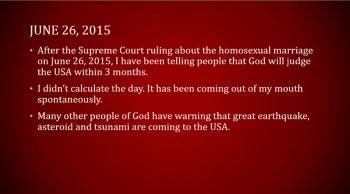 Numerology of the Day of Atonement and the Day of the Homosexual Marriage -  Dr JT Lee
