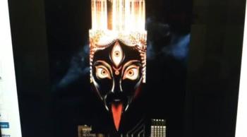 Goddess Kali: The Dark Mother Illuminates Over New York City