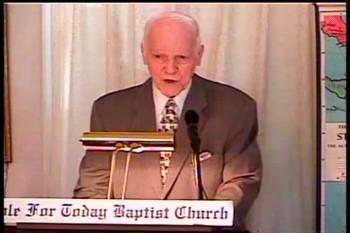 Part 1 --  To Preach The Gospel – 1 Corinthians 1:13-26 –  Pastor D. A. Waite – BFTBC