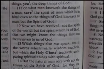 Part 1 -- The Deep Things Of God – 1 Corinthians 2:8-13–  Pastor D. A. Waite – BFTBC