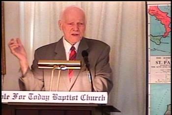 Part 2 -- The Temple of God  – 1 Corinthians 3:10-17–  Pastor D. A. Waite – BFTBC