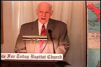 Part 1 -- The Temple of God  – 1 Corinthians 3:10-17–  Pastor D. A. Waite – BFTBC