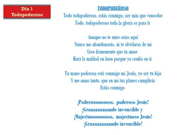 Todopoderoso (Dia 1)