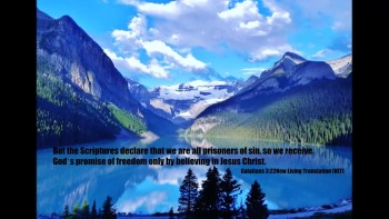 Gods promise of freedom