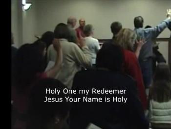 I worship Your Holy Name