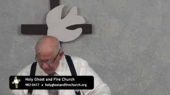 Holy Ghost Fire Church Broadcast 10-09
